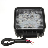 27W 9 LED White Work Spot Pencil Offroad Lamp Light Truck 4WD 4x4