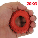 New 20KG Rubber Ring Grip Hand Gripper Device Strength Red