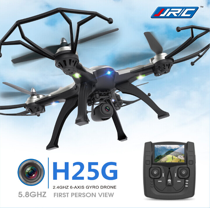 JJRC H25G 5.8G FPV With 2MP Camera 2.4G 6-Axis Headless Mode One Key Return RC Quadcopter RTF