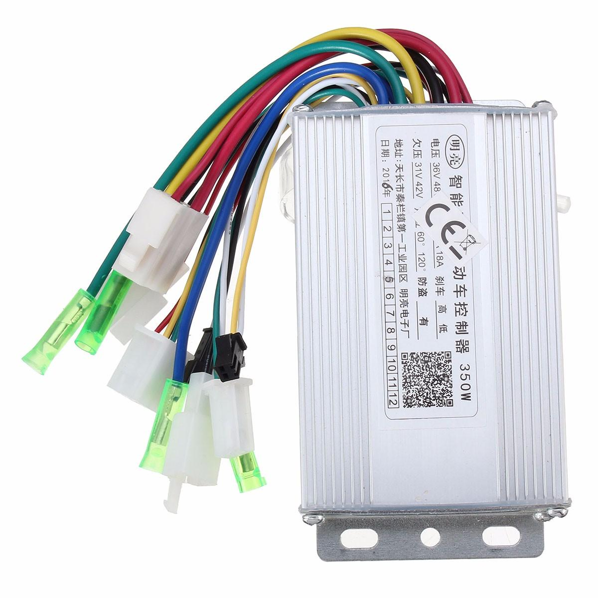 350W 36V/48V Brushless Controller For Scooter