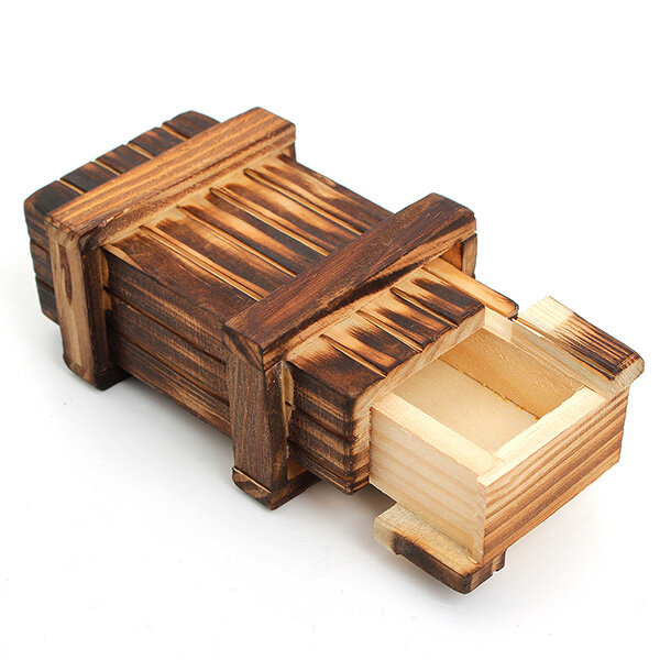 Mini Compartment Wooden Secret Toy Magic Puzzle Box Us 3 99