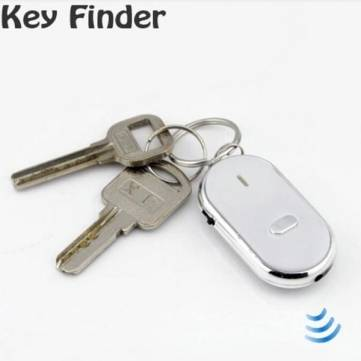 Whistle Activated Key Finder With LED Light For Apple Accessories