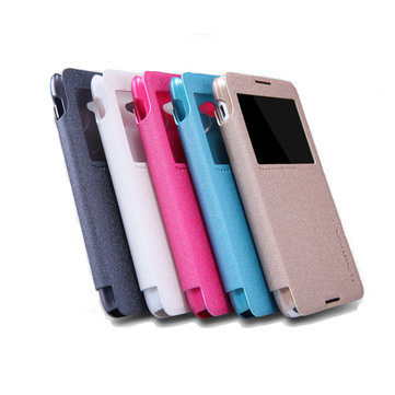 Nillkin Sparkle Series Window View Leather Case For Sony Xperia E4