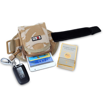 BUBM Outside Sport Running Arm Package Wrist Bag For Mobile Phone