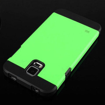 Dual Color TPU PC Protective Case For Samsung Galaxy S5 i9600