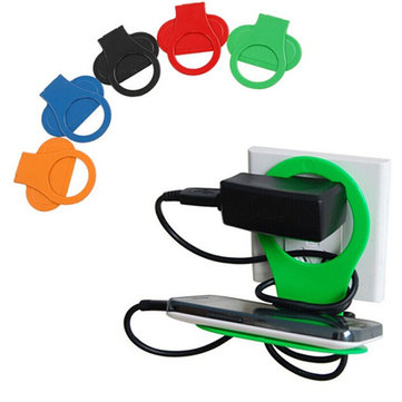 Holder Hangs Charger Charging Rack For Mobile Phone Random Delivery