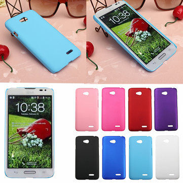 Durable Frosted Matte PC Hard Back Cover Case For LG Optimus L70