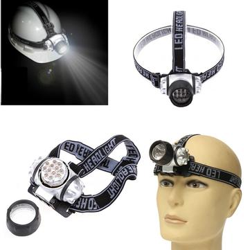 Image of 12 LED Headlamp Headlight Ultra Bright Torch Camping Fishing Hiking Light Outdoor