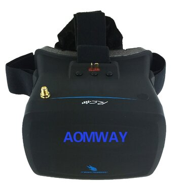 Aomway VR Goggles V1 5.8G 40CH 800x480 5 Inch FPV Video Glasses Headset
