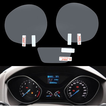 Car Dashboard Protective Film Decorative Car Stickers for Ford Focus 2012
