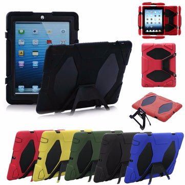 Shockproof Heavy Duty Hard Case Cover With Stand For Apple iPad 2 3 4