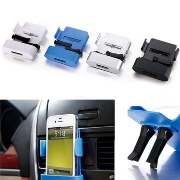 Universal Car Air Vent Mount Bracket Stand Phone Holder for iPhone 6s plus S6