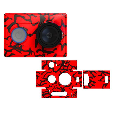 Stylish Skin Protective Sticker for Xiaomi Yi Action Camera