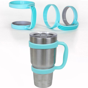 Blue Handle for 30 Oz YETI Cup Holder Travel Rambler Coffee Tumbler Drinkware 1083090