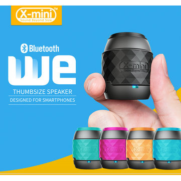 X-Mini WE Thumbsize Key Ring Outdoor Bluetooth Speaker For iPhone 6 6S Plus Smartphones Samsung