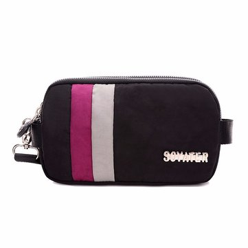 SOYATER Nylon Waterproof Large Capacity Anti Scratch Clutch Bag For iPhone Samsung Xiaomi