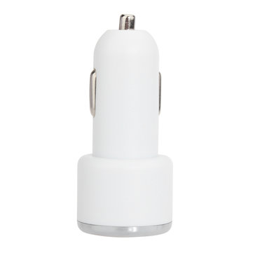 Universal Mini Dual USB Car Charger Adapter Cigarette Powered