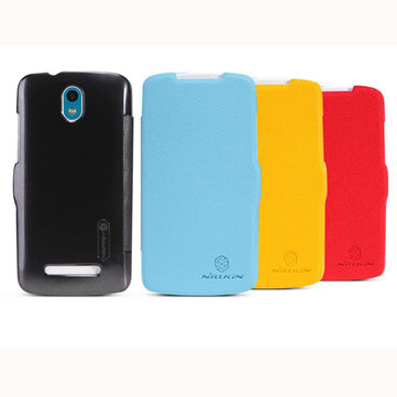 NILLKIN PU Leather Flip Open Case For HTC 506E Desire 500