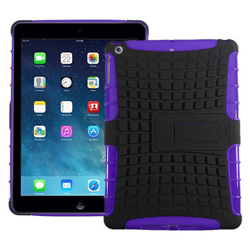 TUP Skin Casual Design Protective Stand Case Cover For iPad Air