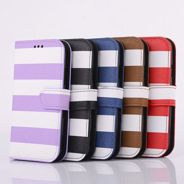 Rainbow PU Leather Protective Case For