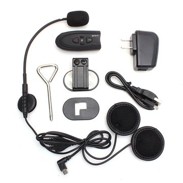 BT-V1 Motorcycle Helmet Type Special Headset with Bluetooth Function