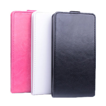 Flip PU Leather Protective Case Cover For Alcatel One Touch POP2 M5