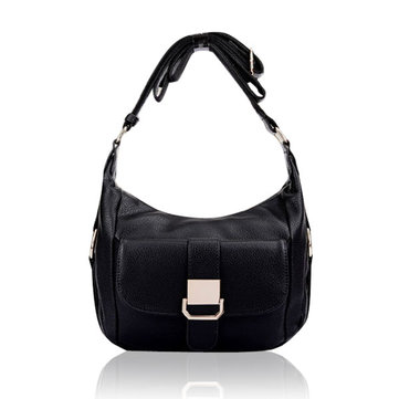 Genuine Leather Pebbled Beckled Women Crossbody Bags Handbags Shoulder Bags