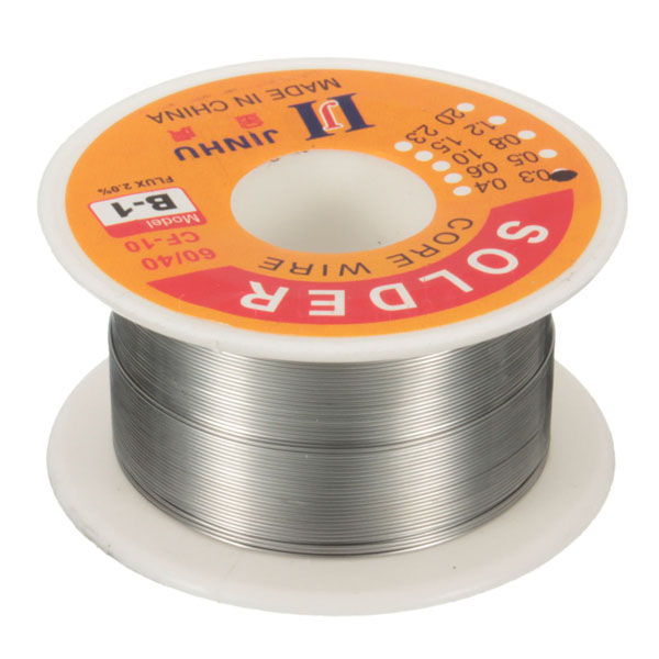 60g 60/40 0.3mm Tin Lead Soldering Wire Reel Solder Ros