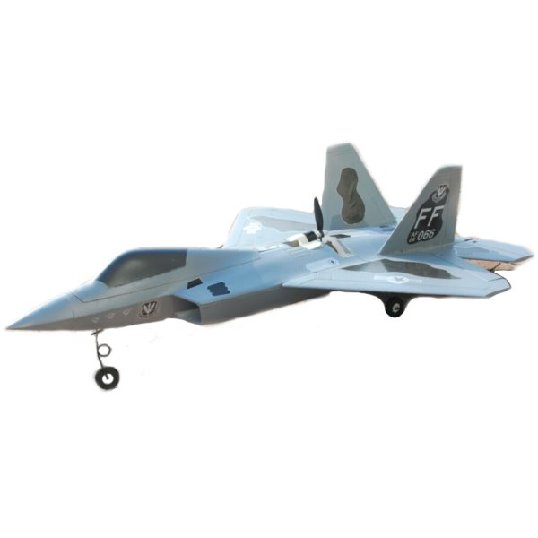 F22 720mm Wingspan EPO Back Pusher Ducted Motor Dual Power Switchable RC Airplane KIT
