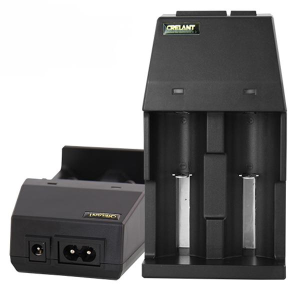 CRELANT CD80 Li-ion Ni-MH Smart USB Battery Charger
