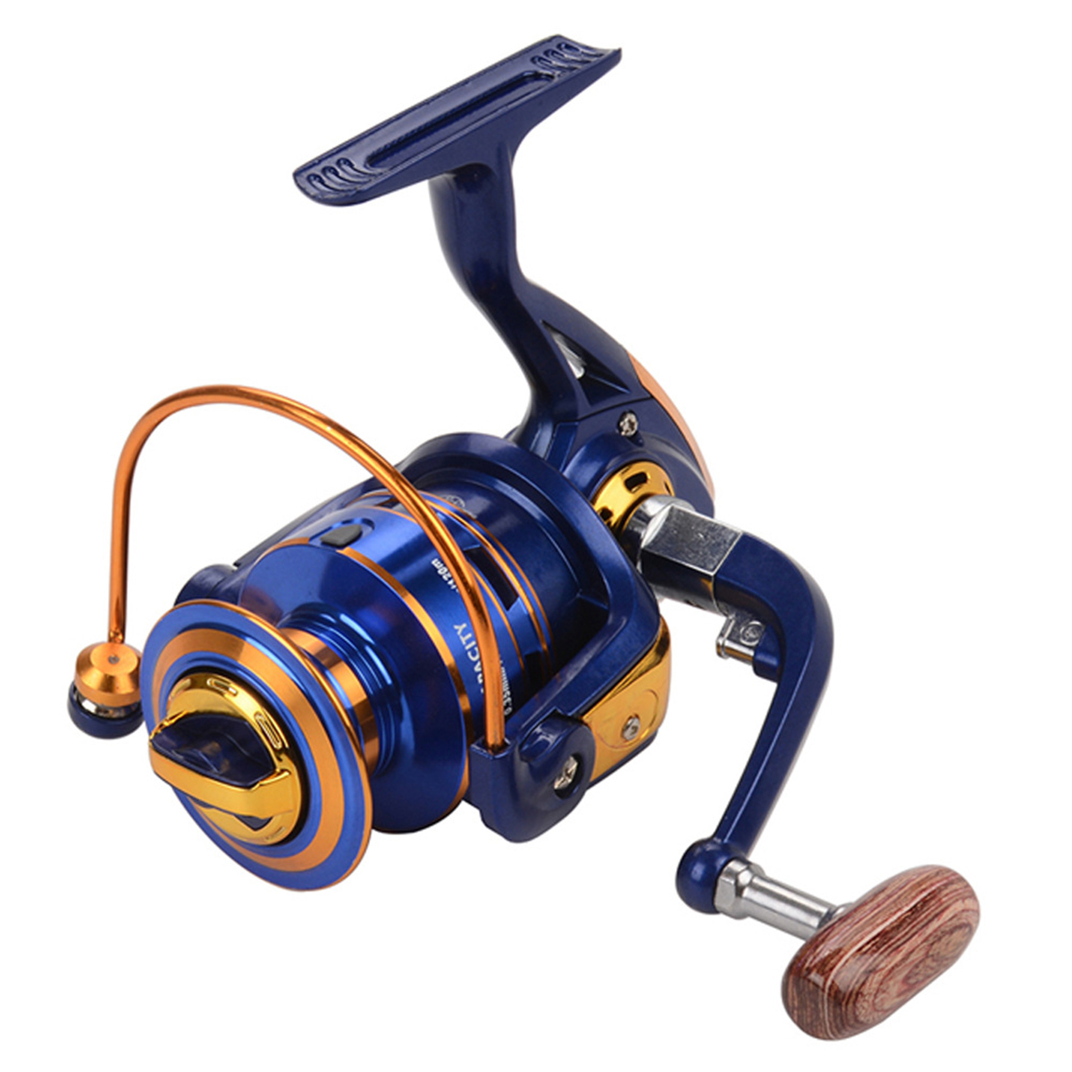 Portable 12+1BB 5.2:1/4.9:1 Metal Spinning Fishing Reel