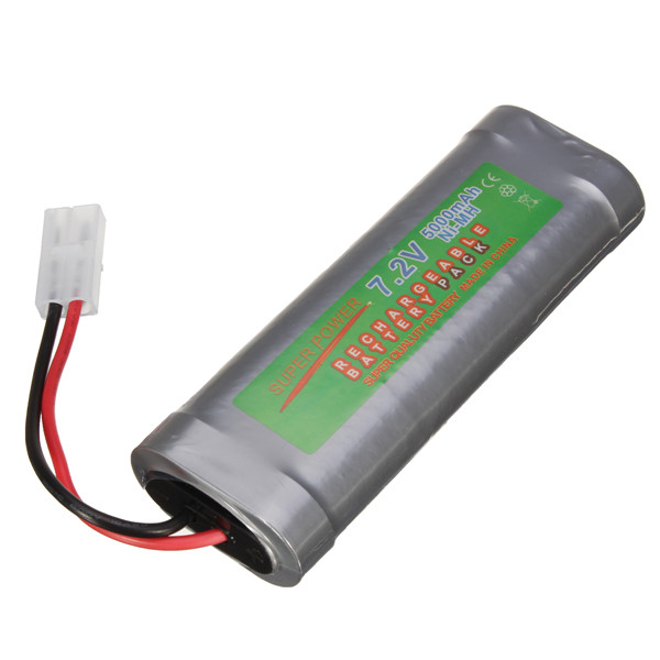 7.2V 6800mAH Ni-MH Rechargeable Battery Pack for Toy Ve