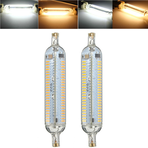 R7S 10W 118MM 192 SMD 4014 LED Pure White Warm White Co