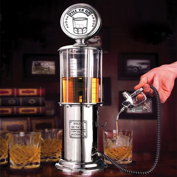 Creative Wine/Beer Dispenser 'Gas Station' Cocktail Drinks Pouring Measure Machine