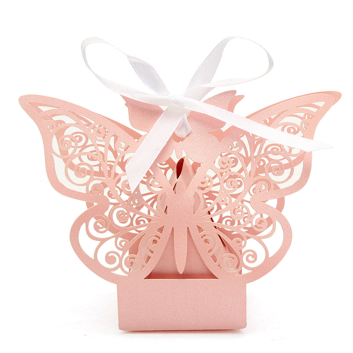 Wedding Favours & Gifts - 10 Pcs Butterfly Lace Hollow Out Paper ...
