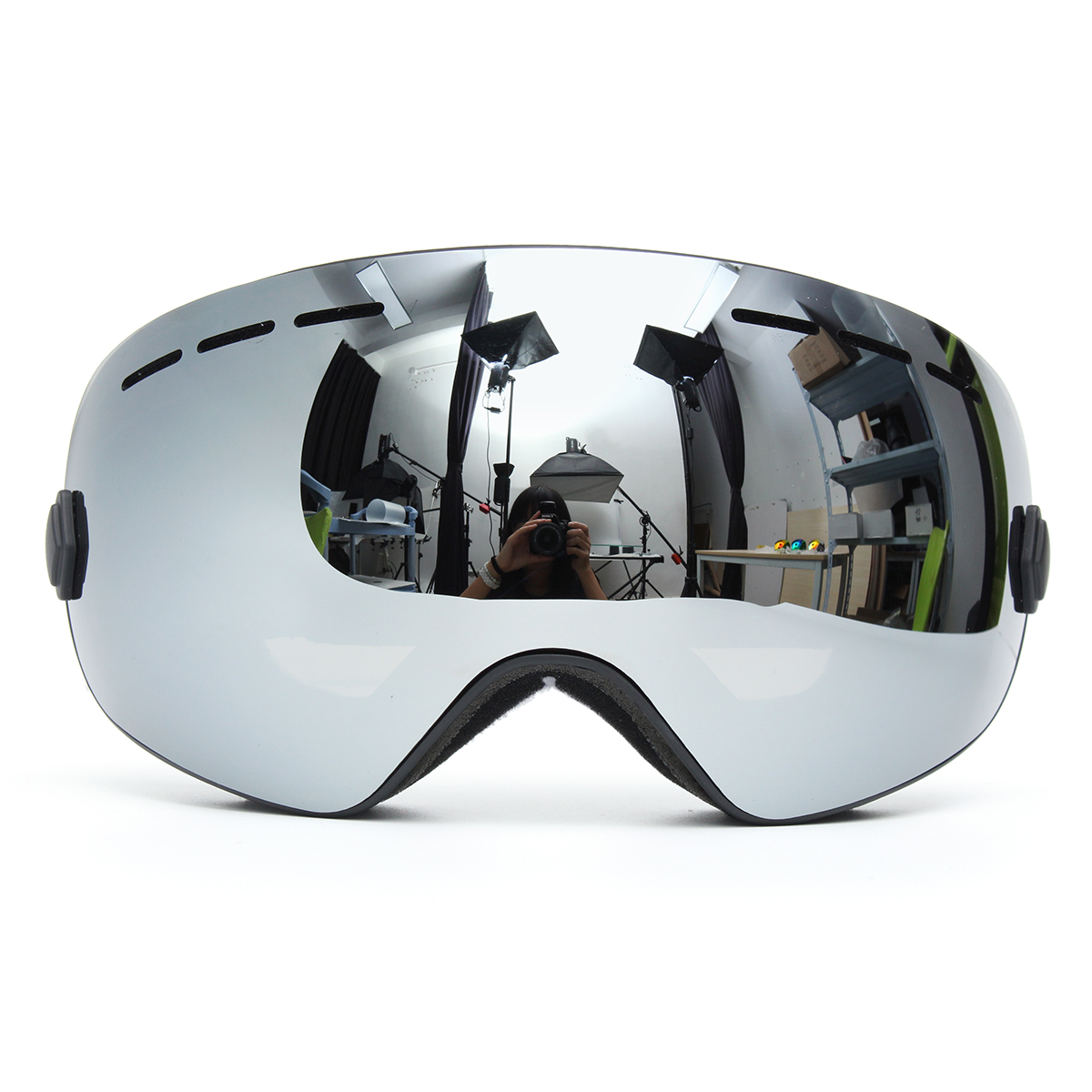 Snowboard Ski Goggles Two Layers Lens UV Protection Ant