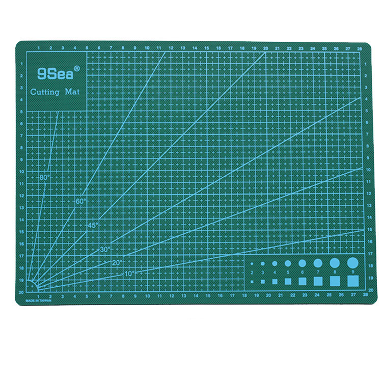 9Sea A4 Self Healing Cutting Mat Double Sided Engraving Board Manual Model Station Pad 300x220mm