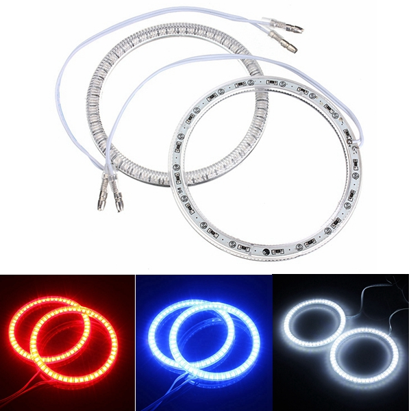 94mm Car 51 LED SMD Light Angel Eye Halo Ring Lamp Bulb