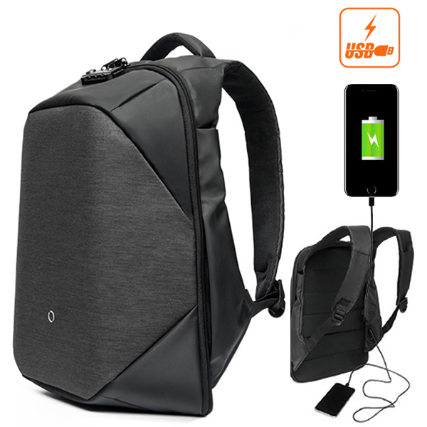 CLICK 17.3L 15.6inch Men Anti-Theft Laptop Backpack Wat