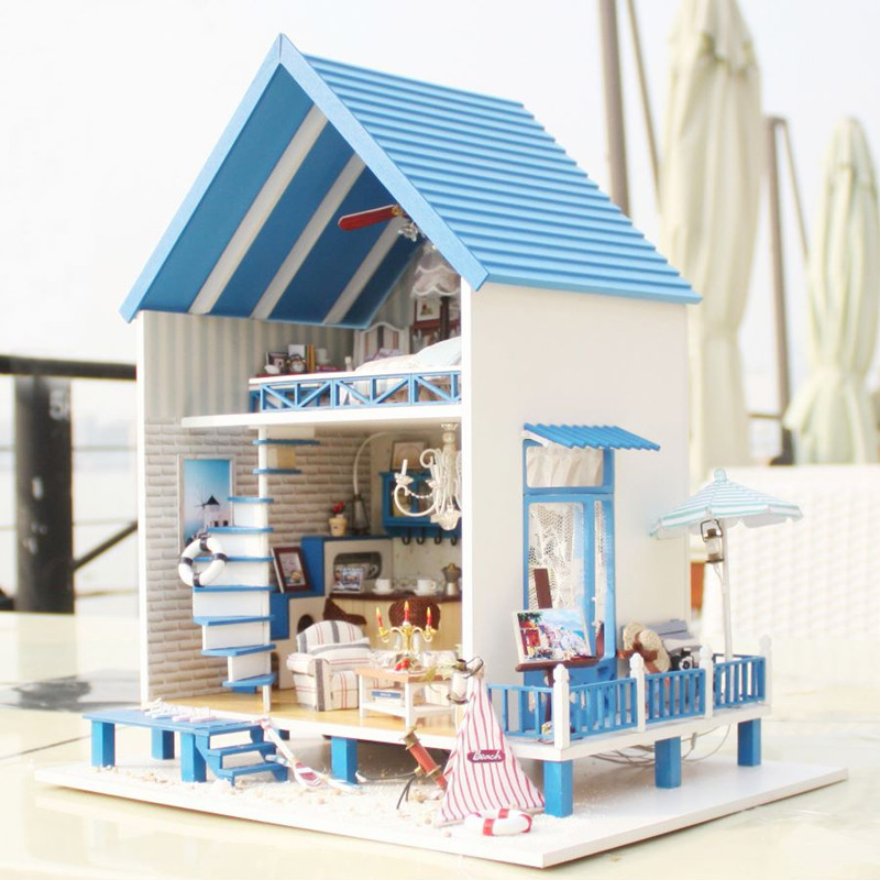 CuteRoom A-018-A Romantic Aegean Sea DIY Dollhouse Mini