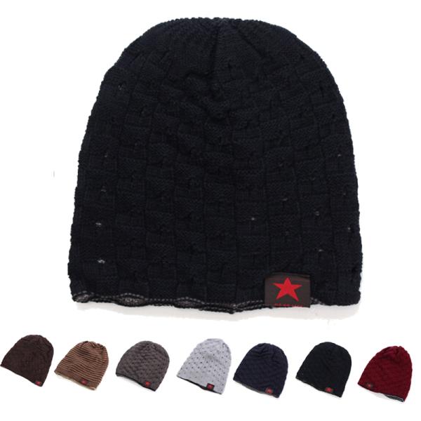 Unisex Winter Warm Skull Knit Beanie Cap Dual Wearable