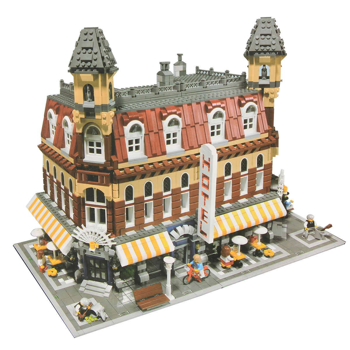 Cafe Corner Building Blocks Educational Toys Children G