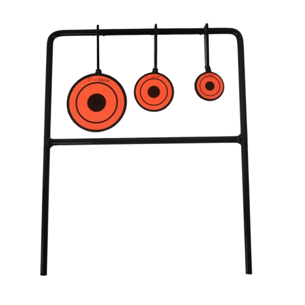 AURKTECH Hunting 3-Plate Reset Shooting Target/Small Me