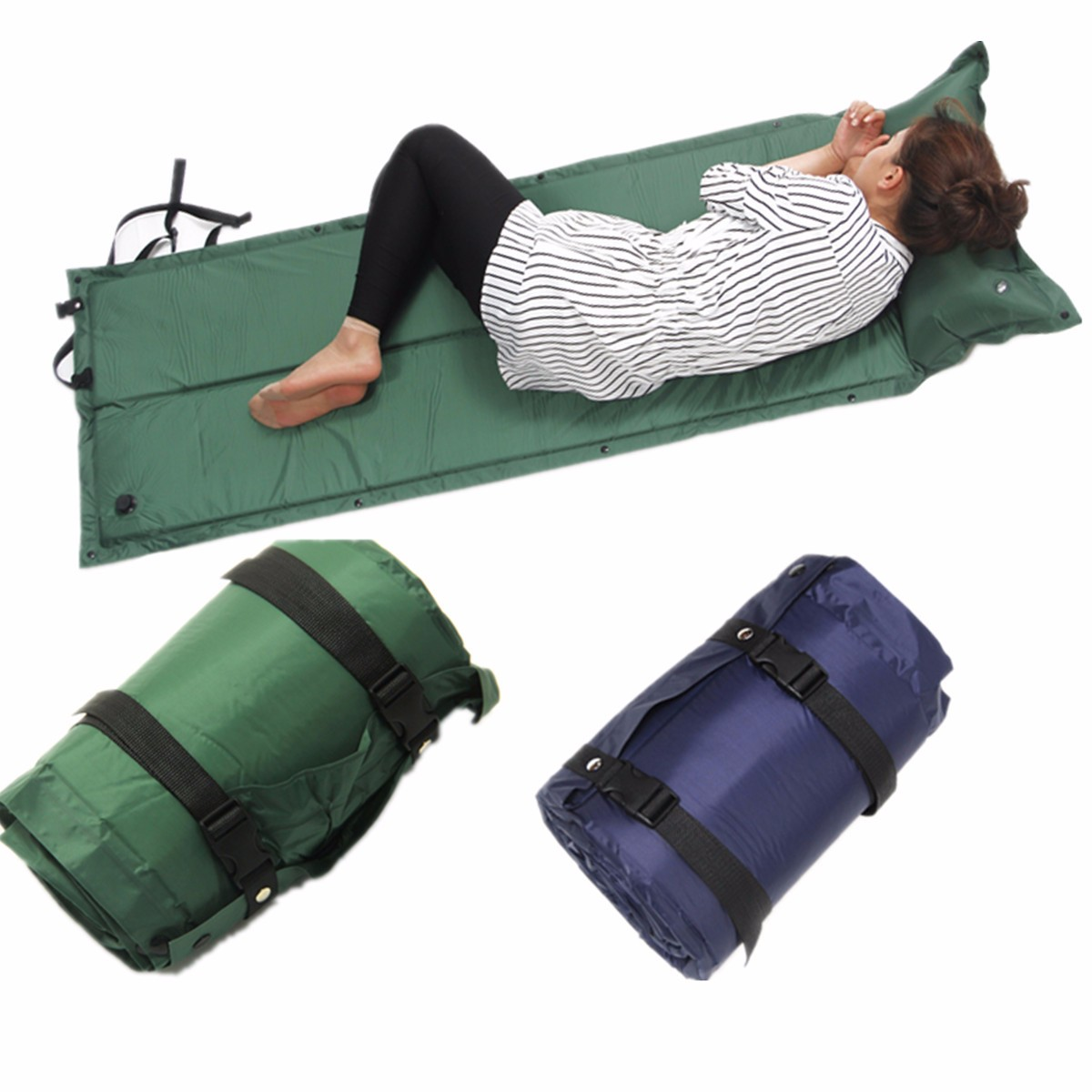 IPRee 183x60x2.5cm Self Inflatable Air Mattress Camping