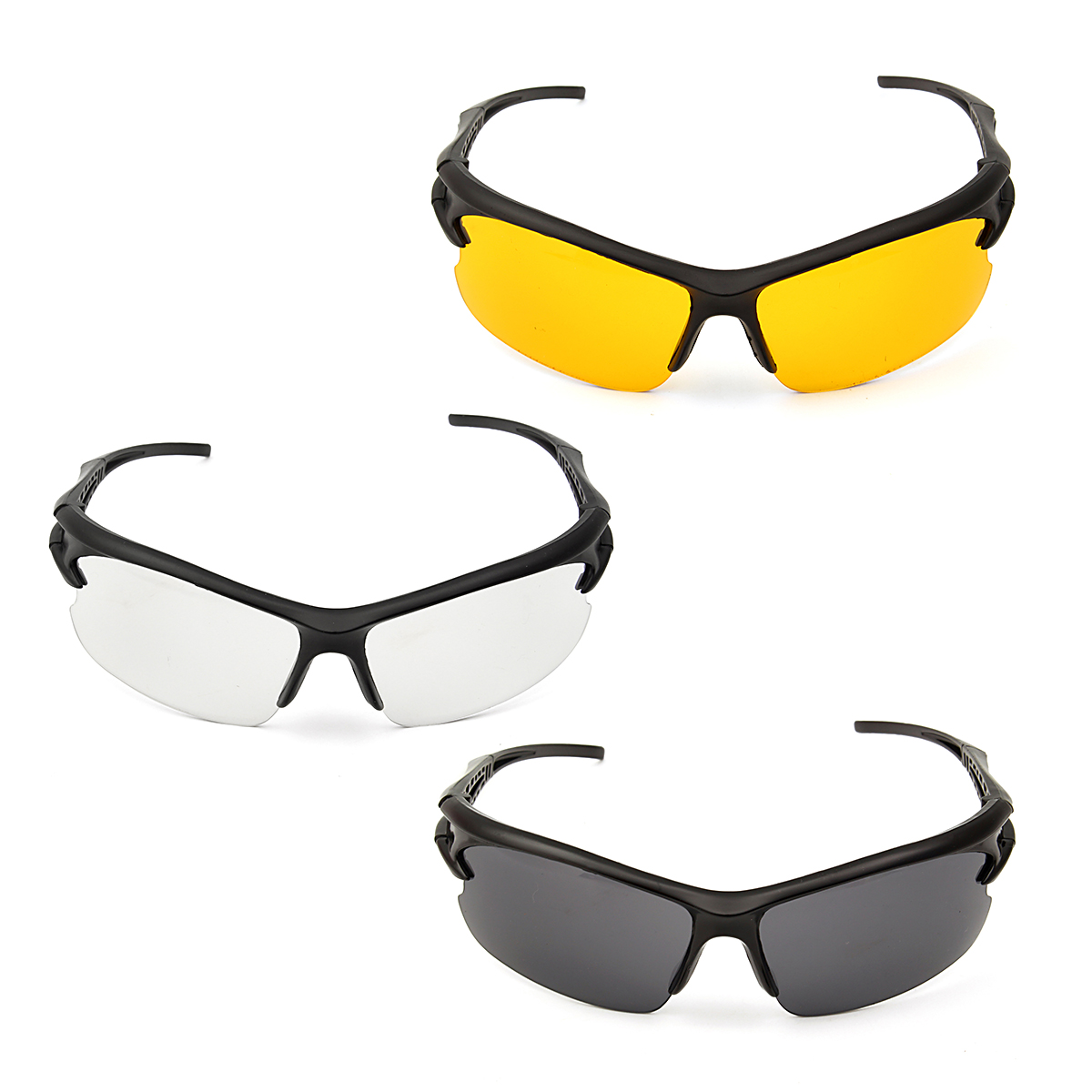 Wind and Dust Protective Goggles Glasses Eyewear Eyes Protection Anti-fog