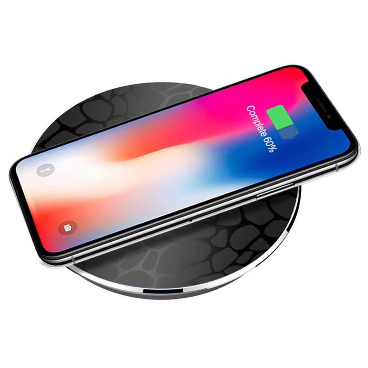 Qi Wireless Charger Charging Pad Mat for iPhone X 8/Plu