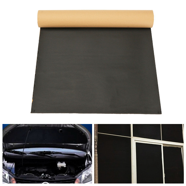 Other parts accessories 50cmx100cm sound proofing for Sound insulation glass