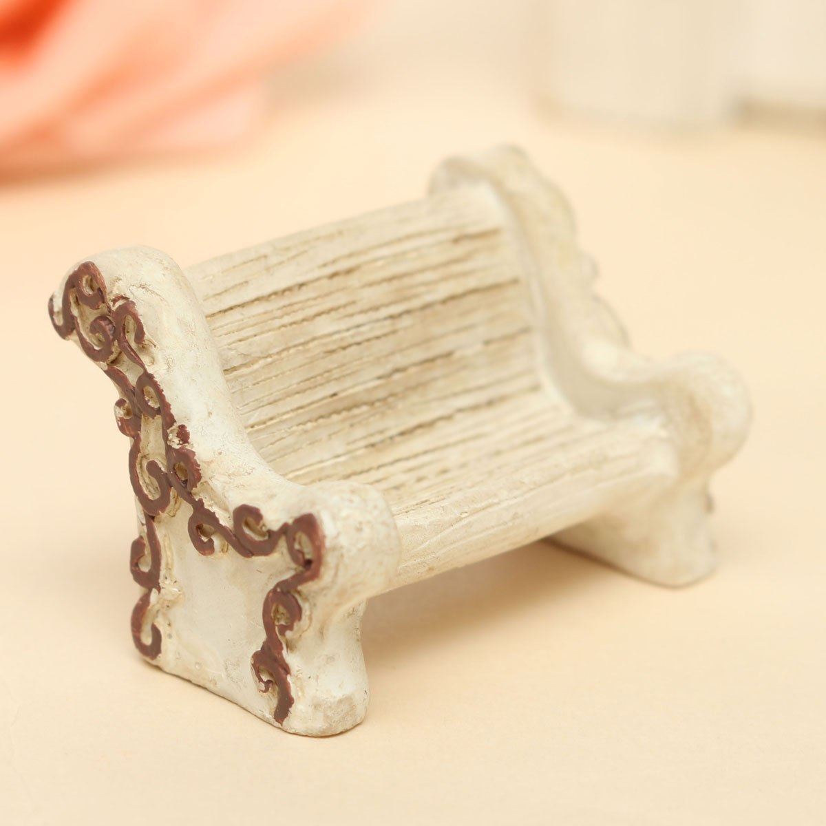 Micro Stool Chair Ornaments Potted Plant Landscape Gard