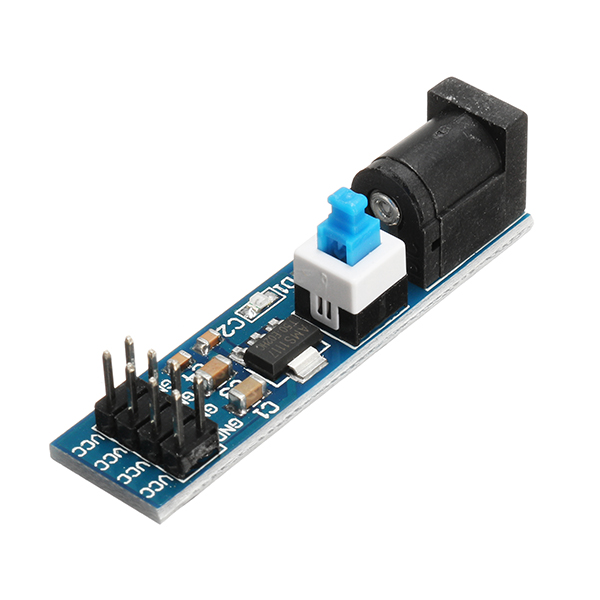 3Pcs AMS1117 5V Power Supply Module With DC Socket And