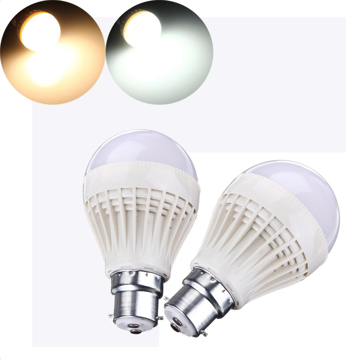 B22/E27 7W SMD 2835 Sound Light Sensor LED Globe Light